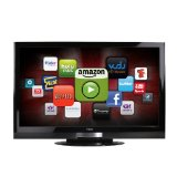 Cyber Monday VIZIO XVT323SV 32-Inch Full HD 1080p LED LCD HDTV with VIA Internet Application, Black